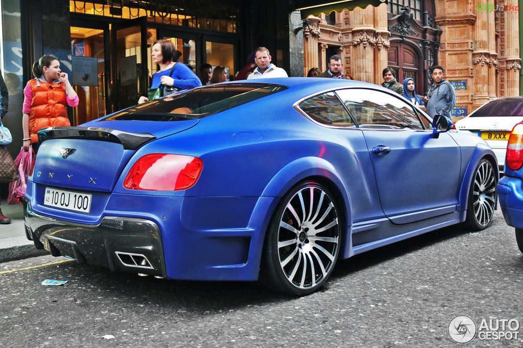 Bentley Continental GT Speed 2012 GTX Edition By ONYX Concept 4