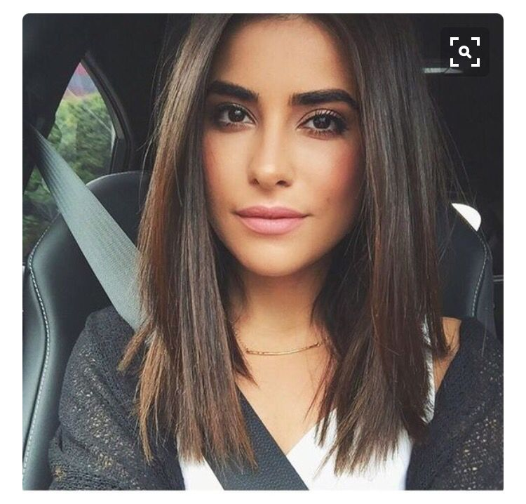 Blunt Cut Mid Length Hair I Love Pinterest Blunt Cuts Mid