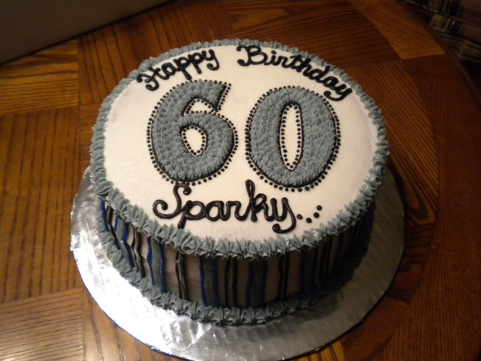 60th Dad Birthday Cake