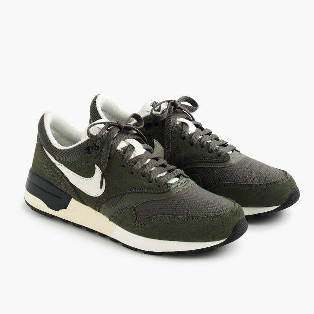 Nike® Air Odyssey sneakers in military green · Men's SneakersMilitary  GreenJcrewCasual ...
