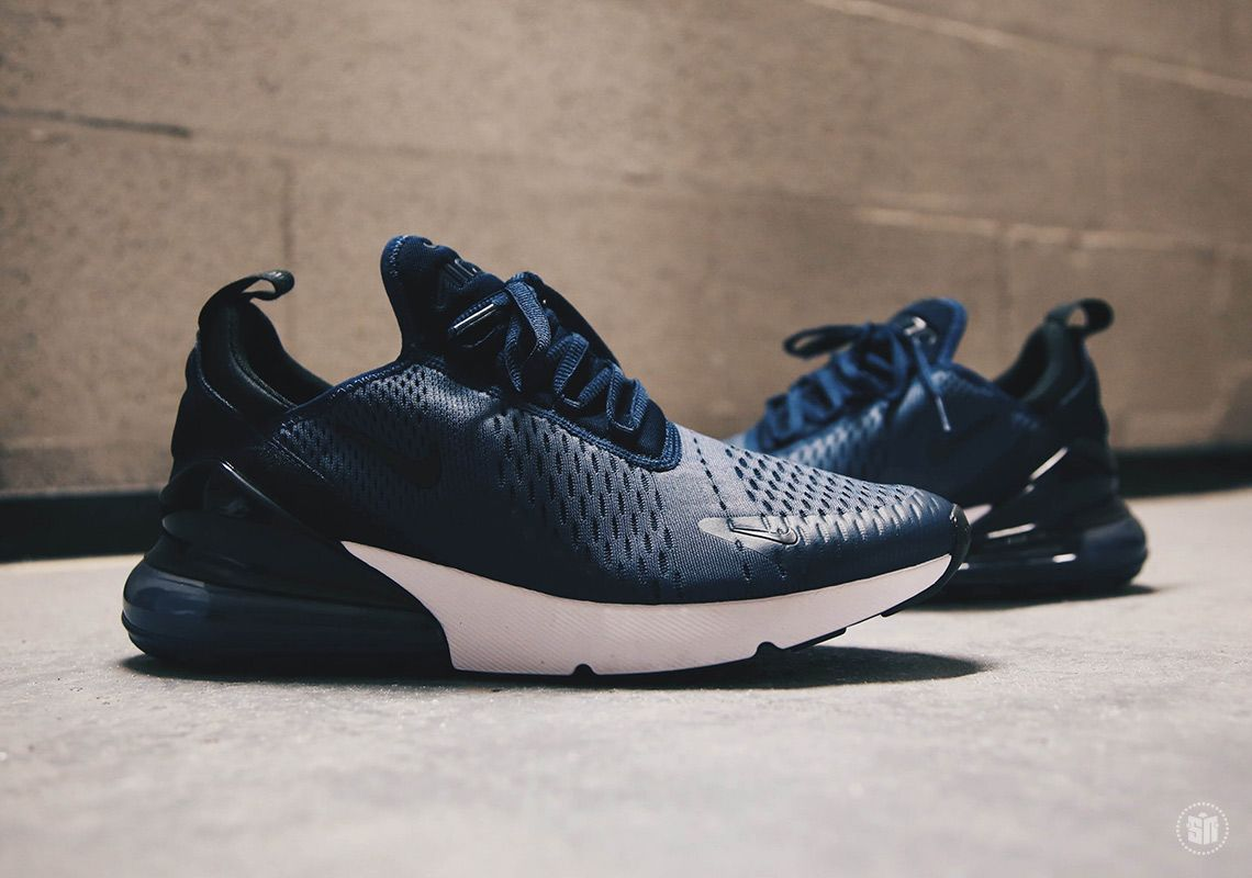 cheaper 2d0da d9814 Nike Air Max 270 Midnight Navy Black AH8050-400  thatdope  sneakers  luxury   dope  fashion  trending