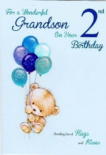Grandson 2nd Birthday Wishes Happy