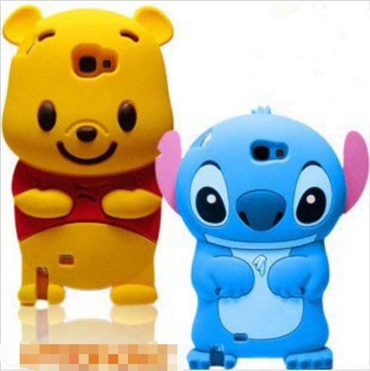 3D Cartoon Winnie Bear Samsung Galaxy S6 S7 Edge Winnie Bear Case ...