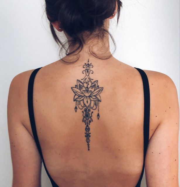 Image Result For Female Back Tattoo Ideas Tattoosonbackspine Spine Tattoos For Women Spine Tattoos Tattoos