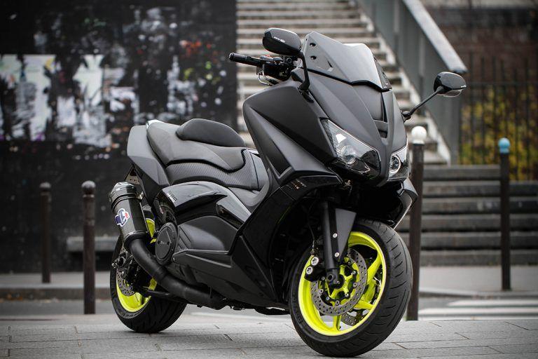 Bcd Design Tmax 530 Black Mat Rmp Moto Bcd Design En 2020 Scooter Yamaha Garde Boue Echappement
