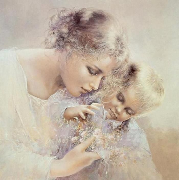 Painting by Lucia Sarto~ Beautiful!