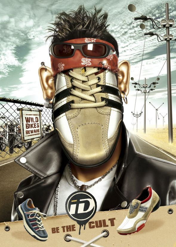 ID Shoes: Biker   Ads of the World™