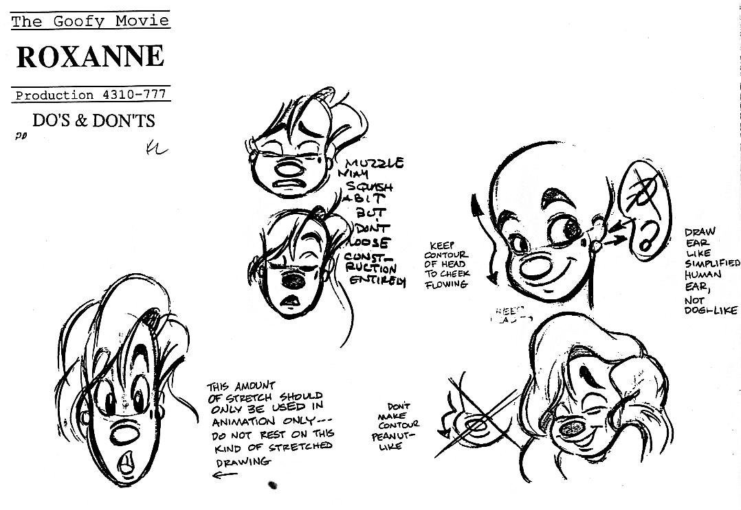 Disney Character Design Sheets : Atlantis characters models disney walt