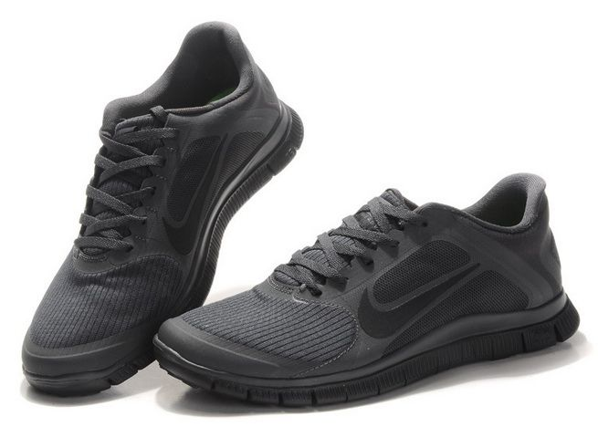 check out f7f6c f973b 2013 Nike Free 4.0 V3 Mens All Black Best Selling #Black ...