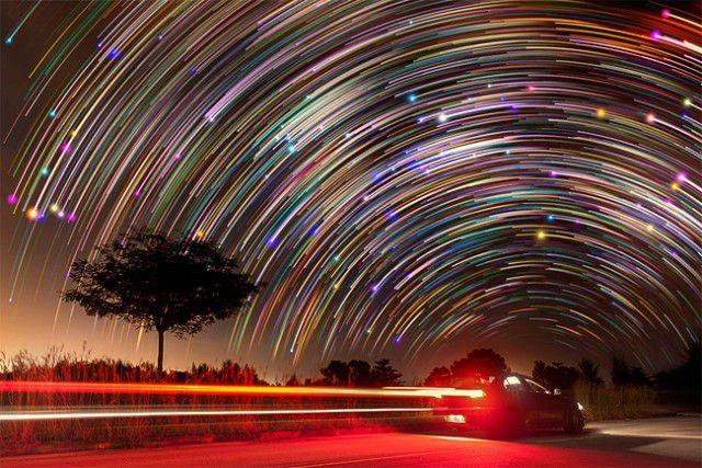 Long exposure photography. Singapur. Photography by Justin Ng