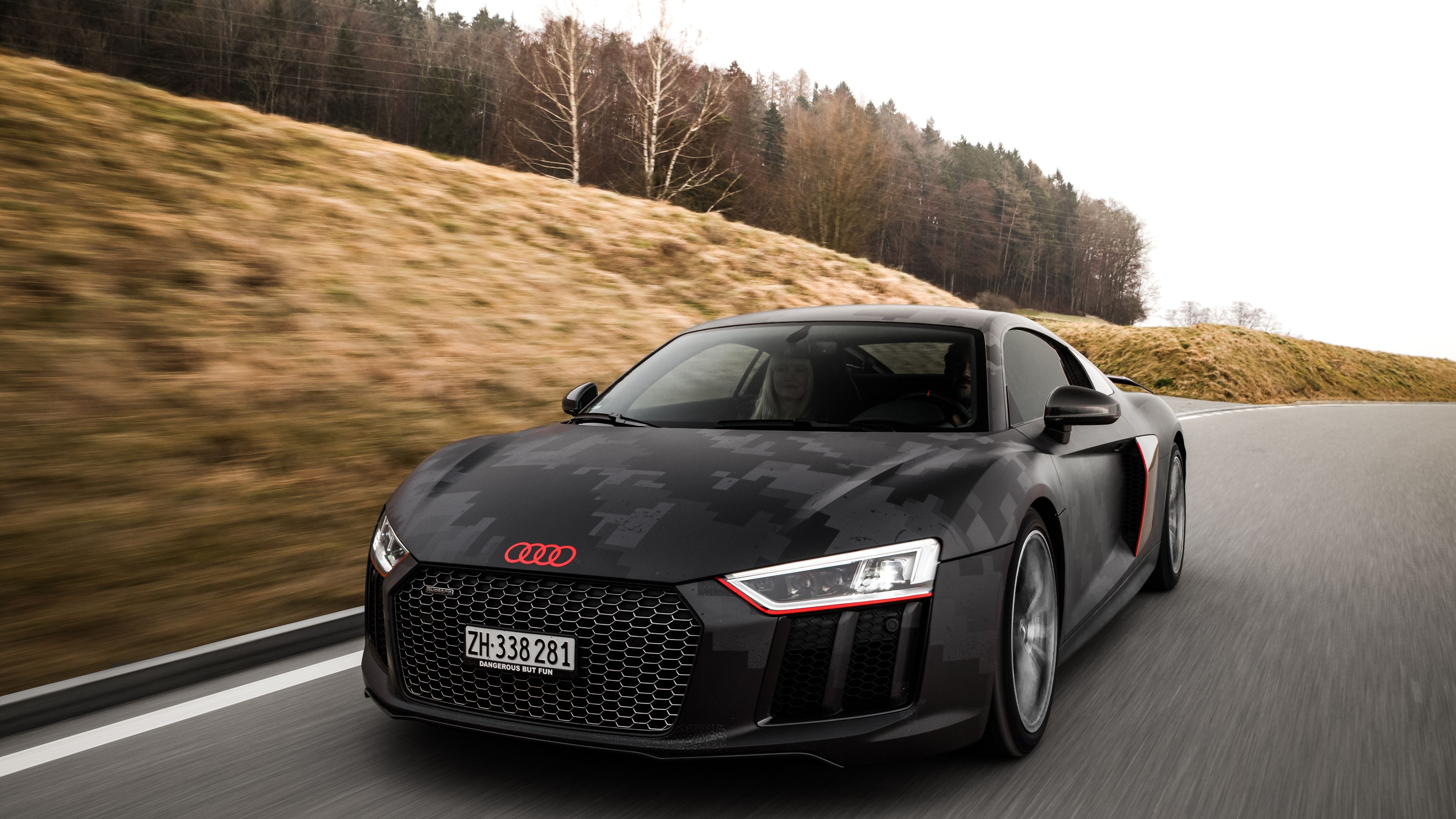 Black Audi R8 V10 Plus 4k Hd Wallpapers Cars Wallpapers Audi