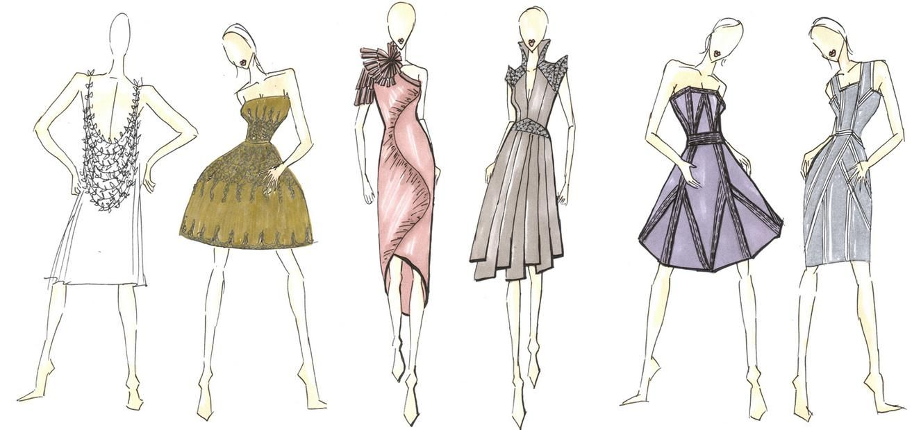 model fashion design