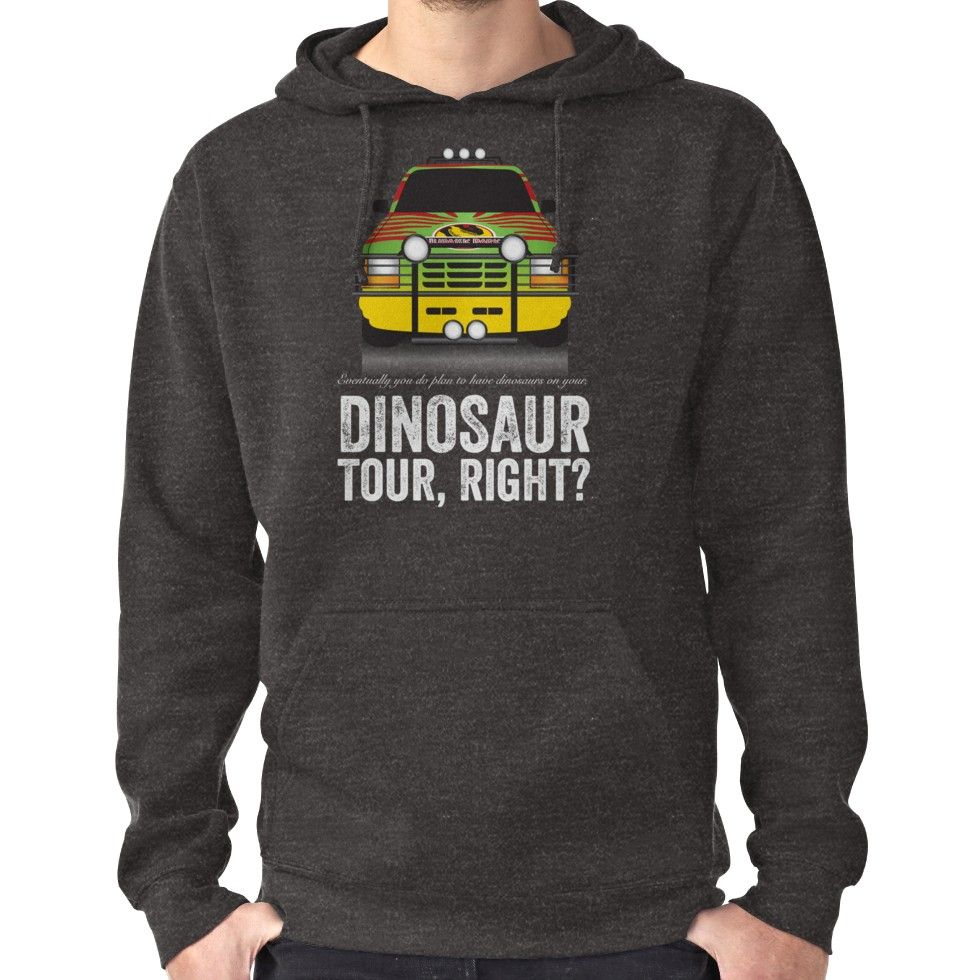 Jurassic Park - Jeep Print | Pullover Hoodie #jurassicparkworld
