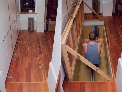 Under Floor Storage No Equipment Workout Home Storage