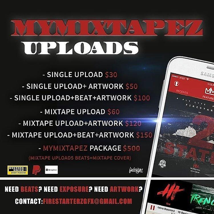 If you would like your mixtape or single uploaded to mymixtapez with a1 cover art dm asap! #seriousinquiryonly #sxsw2017 #firestarterzonthetrack #firestarterzgfx #beats #artist #artwork #singlecover #mixtapecovers #mixtape #hiphop #mymixtapezapp #mymixtapez #paypalready #paypalready�� #westernunion #dm http://www.butimag.com/westernunion/post/1469816849603567364_2701771886/?code=BRl1qMlgR8E