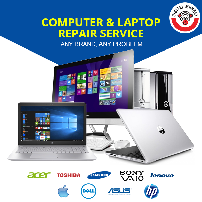 We are providing all kind of Computer Repair Services for