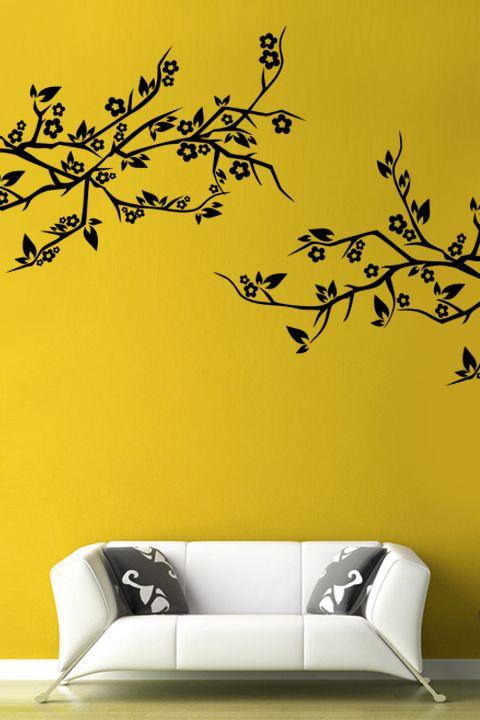 Cherry Branch wall decal by WALLTAT.com | wall decals | Pinterest ...