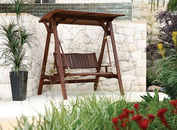 Quality Outdoor Swing Wood Patio Furniture Outdoor Living Decor Patio Furniture