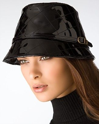 Patent Leather Rain Hat Love This Hats For Women