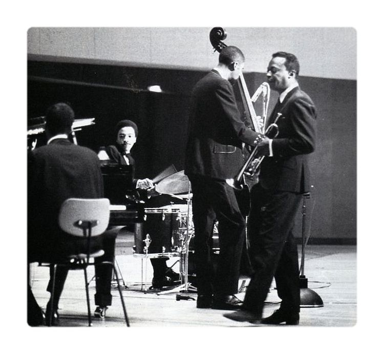 Miles Davis and the second great quintet, Wayne Shorter, Herbie Hancock, Ron Carter and Tony Williams