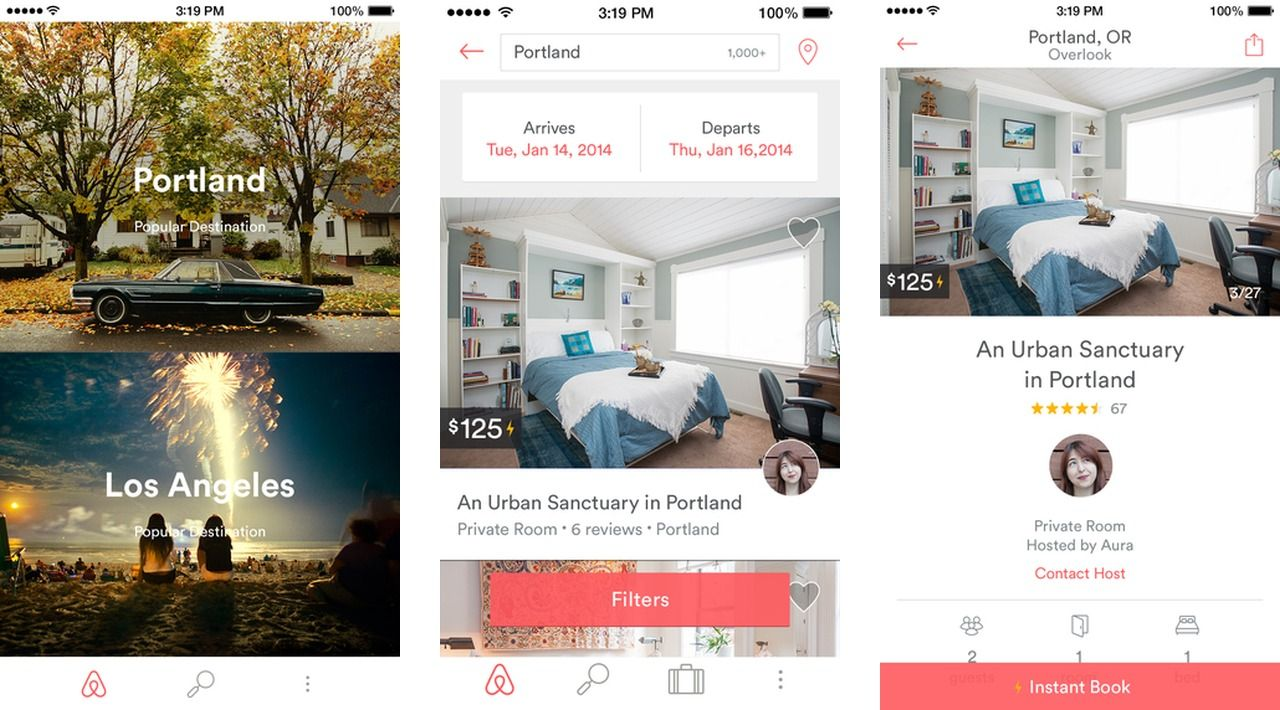 how to delete airbnb account on app