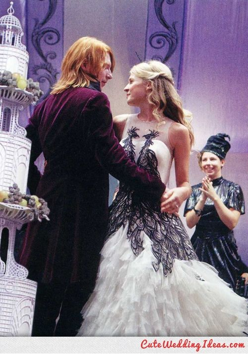 Different Wedding Dress Harry Potter Costume Fleur Delacour Harry Potter Style