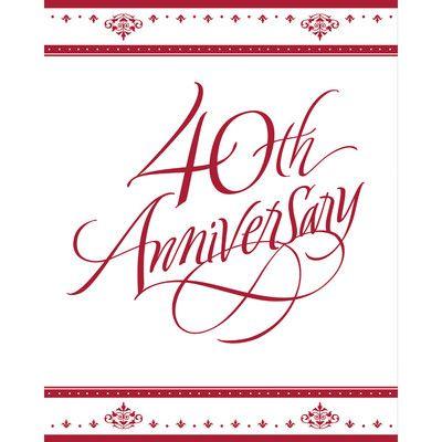 Ruby 40th anniversary invitations envelopes 25 pack anniversary ruby 40th anniversary invitations envelopes 25 pack stopboris Gallery