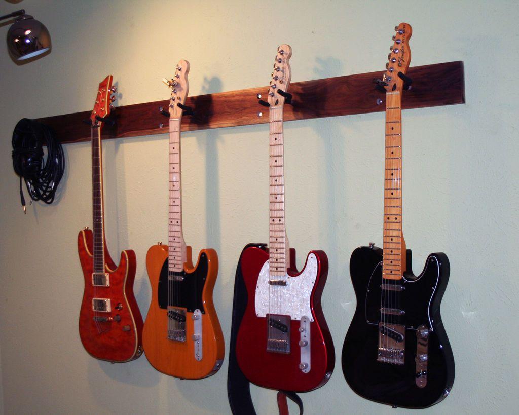 Guitar Wall Hanger | New Family Home | Pinterest | Room ...