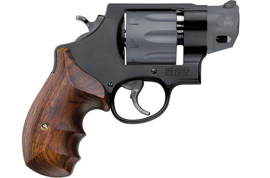 S&W MODEL 327 - N frame, .357 Magnum/.38 +P Scandium alloy frame ...