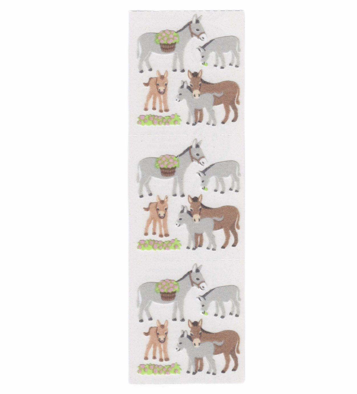 Vintage 1980s  Sandylion Donkey Sticker Mod