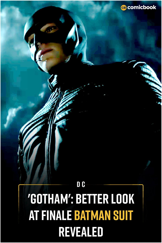 Gotham Better Look At Finale Batman Suit Revealed Batman Suit