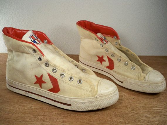 Vintage 1960u0027s CONVERSE ABA Basketball Athletic by Joeymest 1960