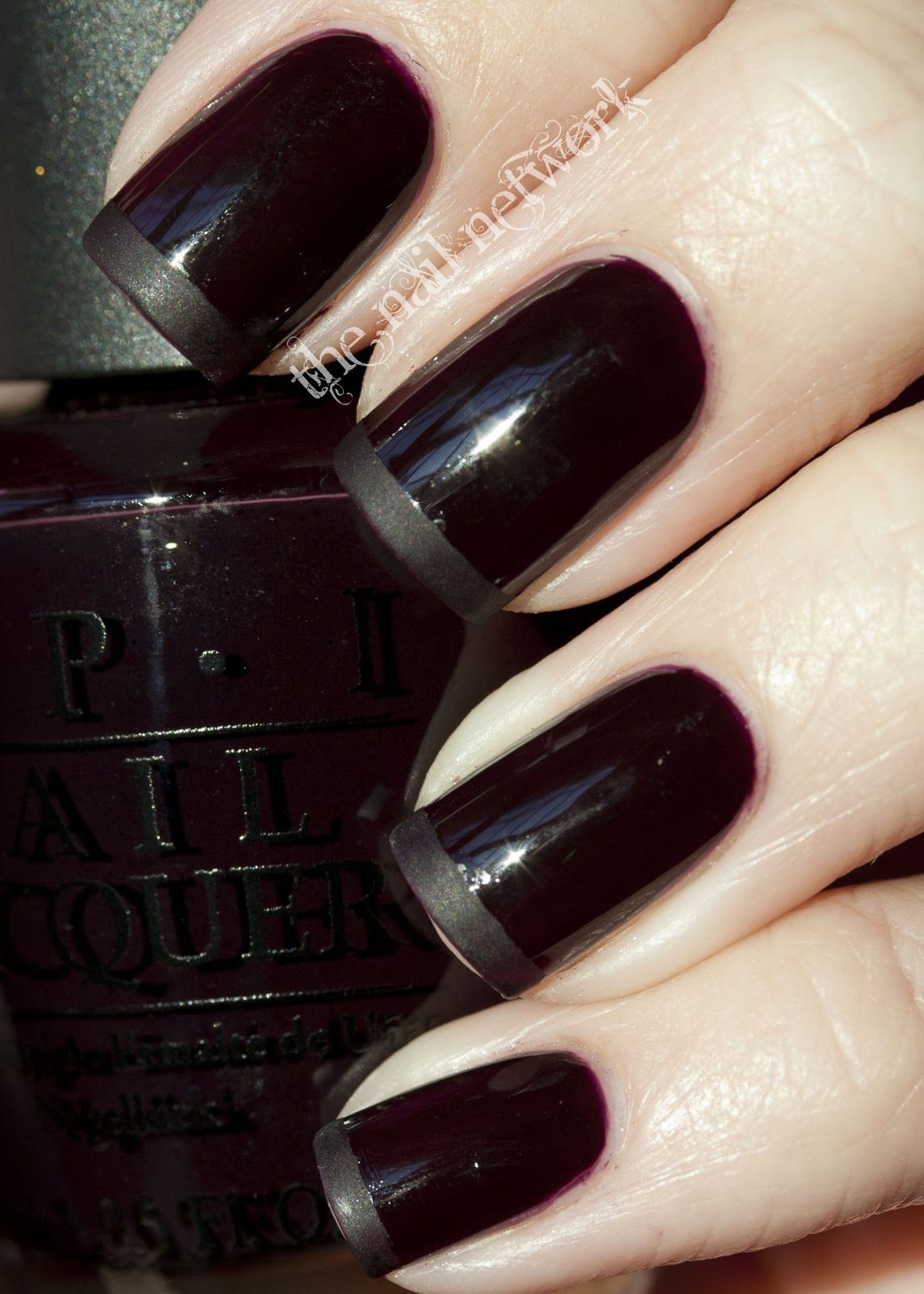 My favorite nail polish color ever: OPI Lincoln Park After Dark ...