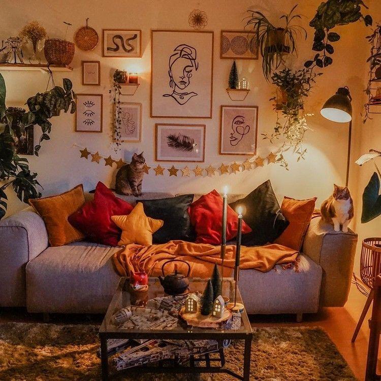 Iron Lantern Warm Home Decor Home Decor Cozy Living Rooms