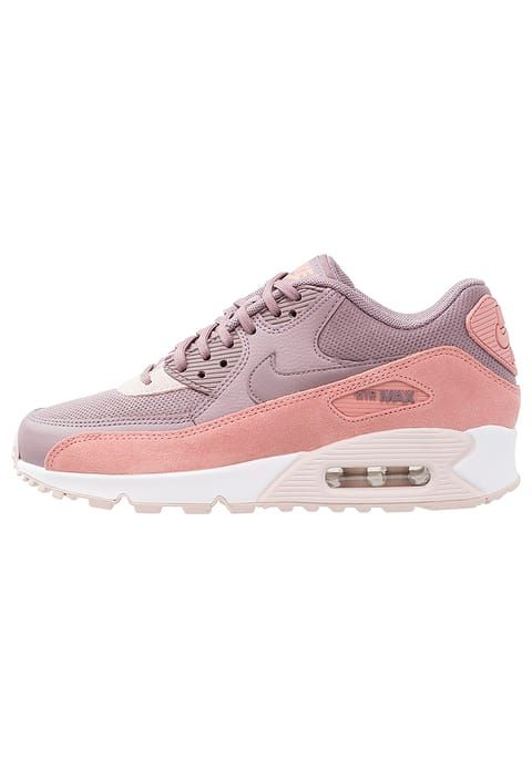 Nike Wmns Air Max 90 (Red Stardust Taupe Grey Silt Red