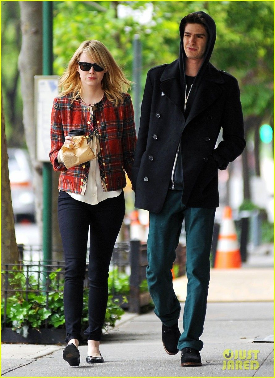 Emma Stone & Andrew Garfield... cute couple