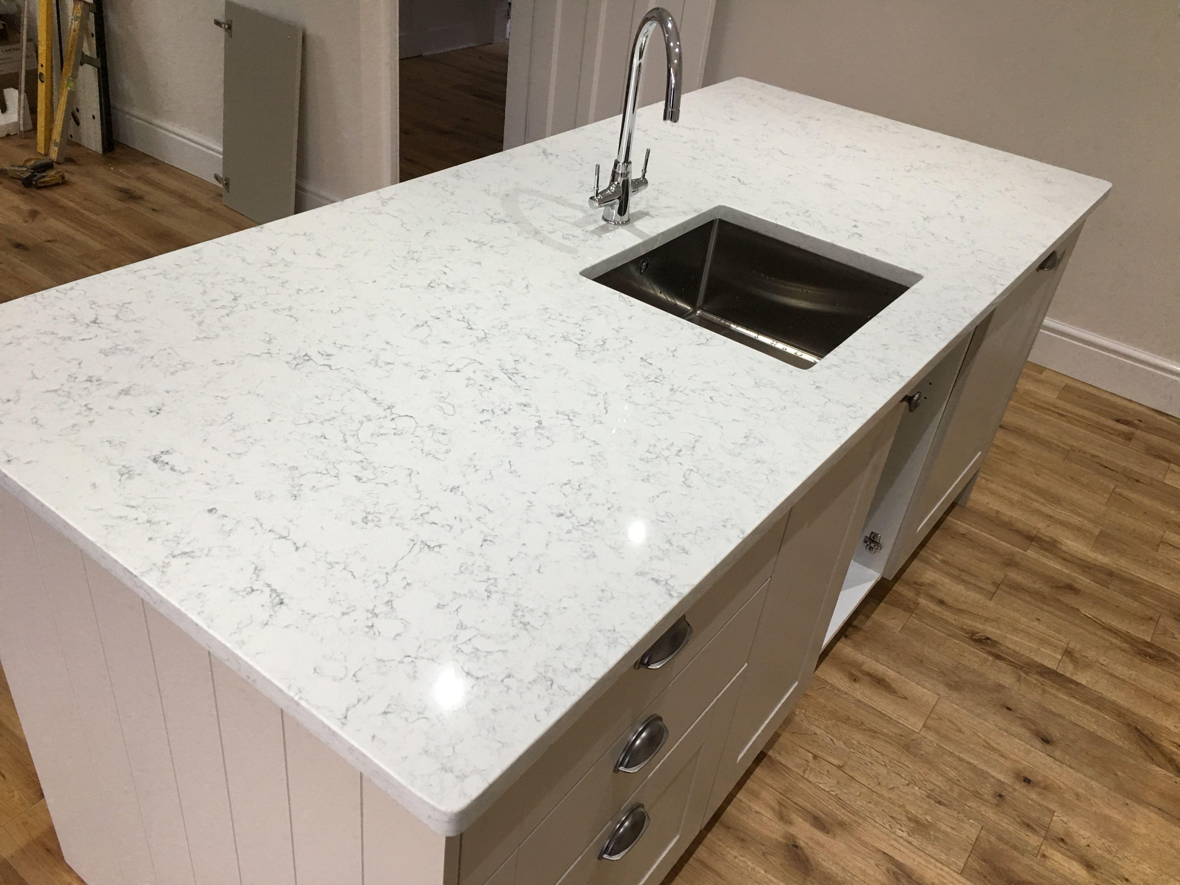 Noble Carrara Kitchen Worktops Kitchen Design Carrara Quartz Kitchen Worktop