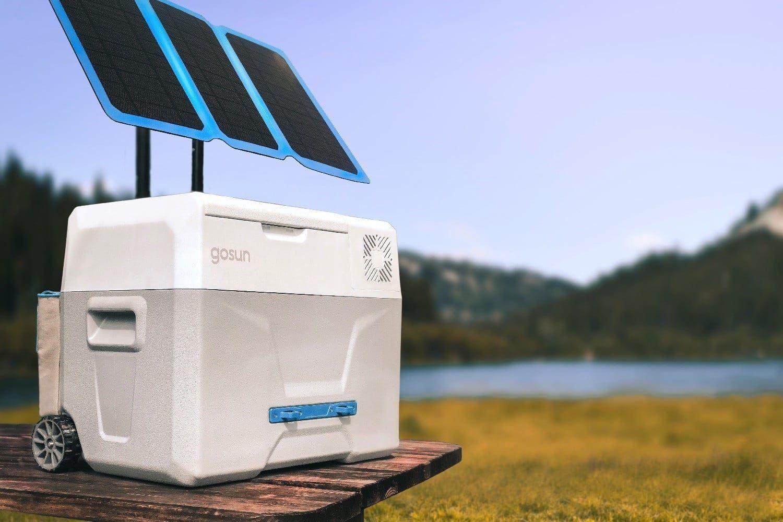GoSun Chill Una nevera solar portátil que no necesita