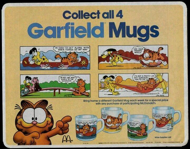 Garfield Mugs!
