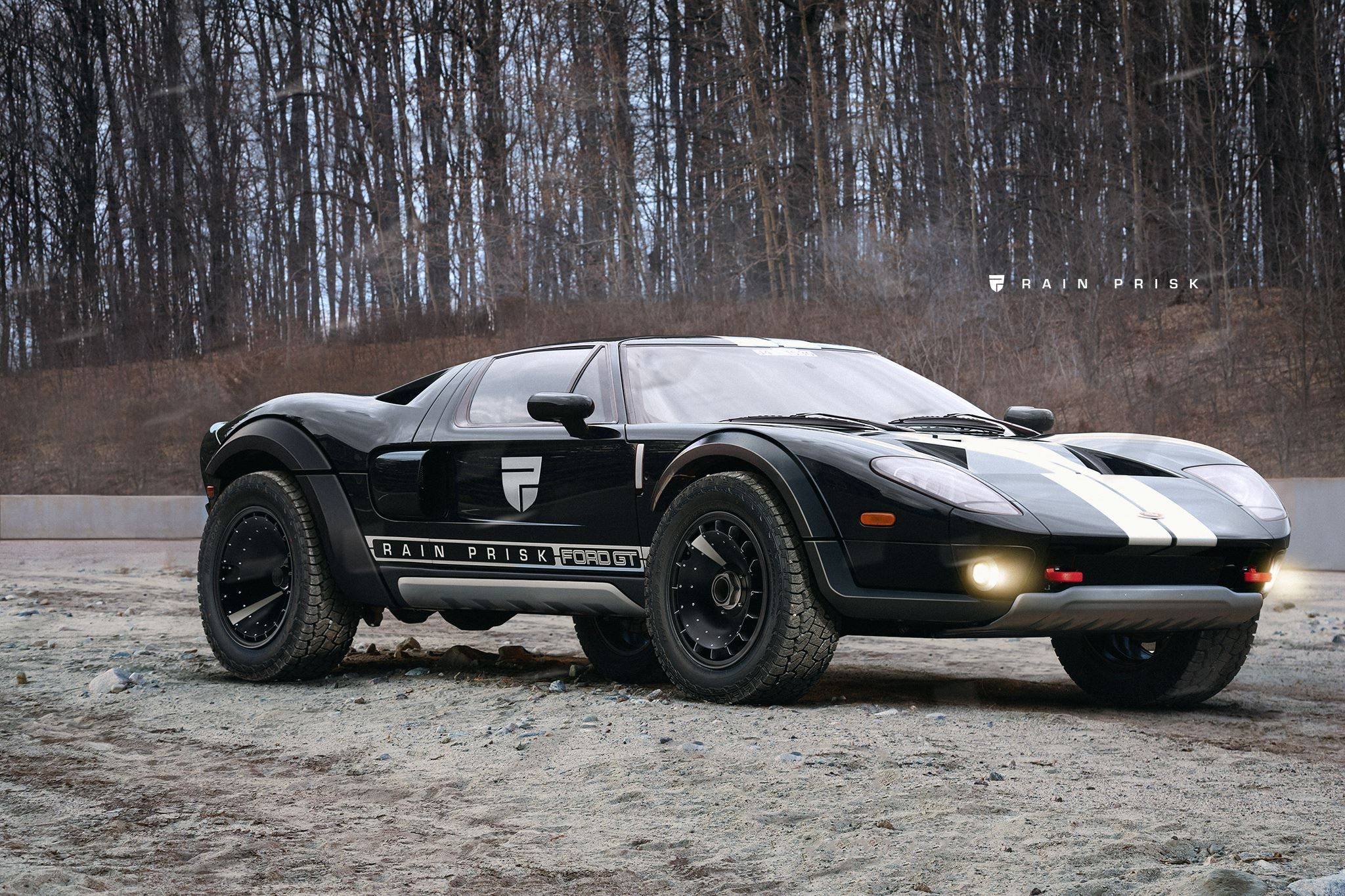 Raised Ford Gt Is Another Kind Of Raptor Ford Gt Offroad
