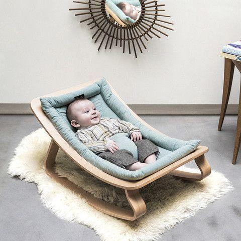 Charlie Crane Levo Aruba Blue Baby Bouncer in Turquoise (from birth)  – Babyzimmer Ideen