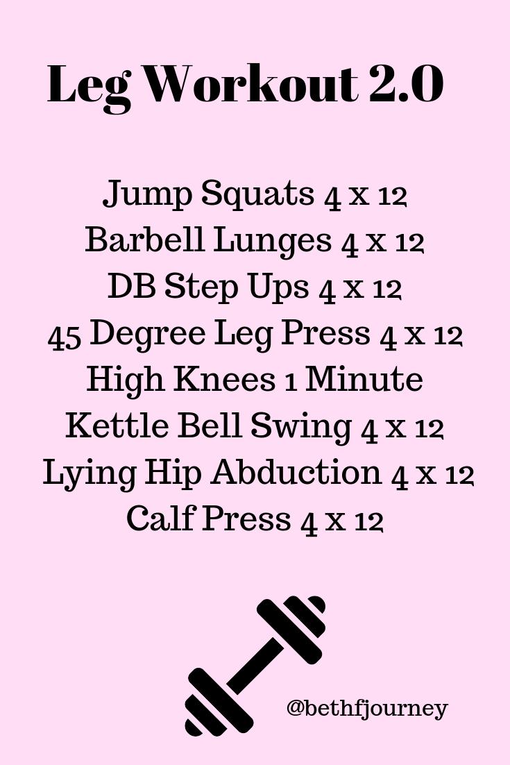 Leg Workout Leg Workout Crossfit Leg Workout Workout