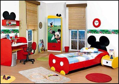 Mickey and Minnie Mouse Theme | Kids room | Mickey mouse ...