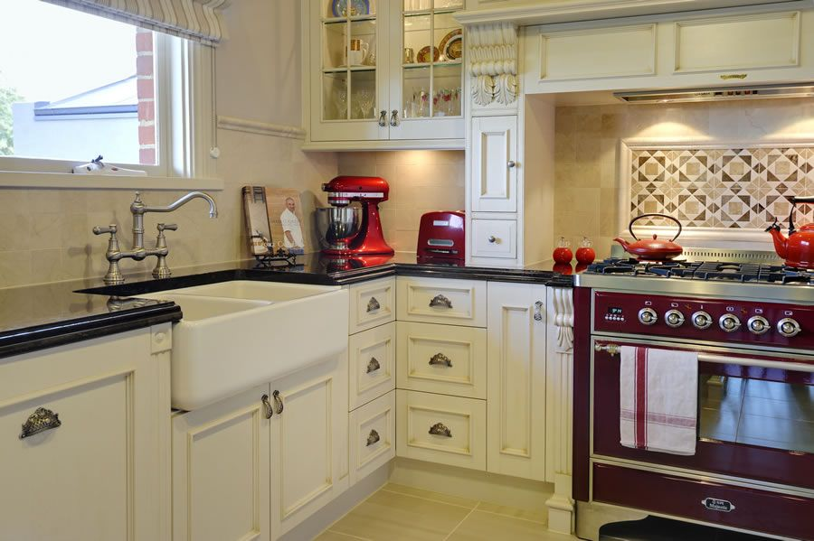 A Classic Victorian style Kitchen