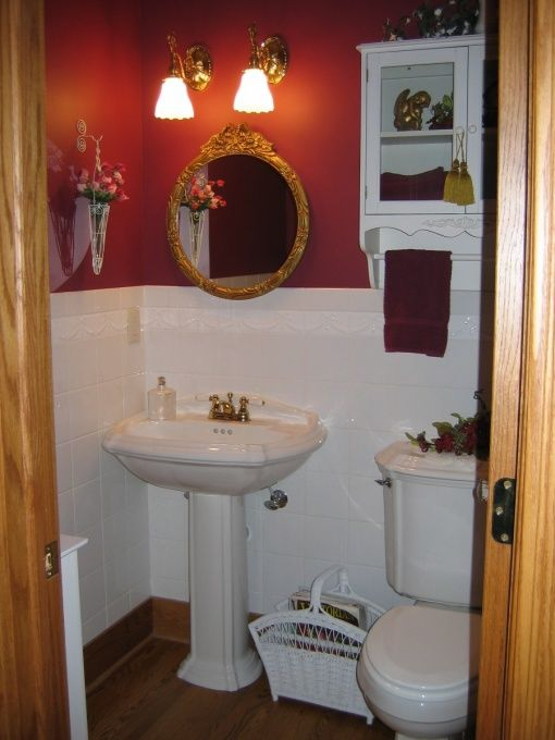 Half Bathroom Design Ideas Amusing Half Bath Ideas  Victorian Half Bath Victorian Half Bath Decorating Design