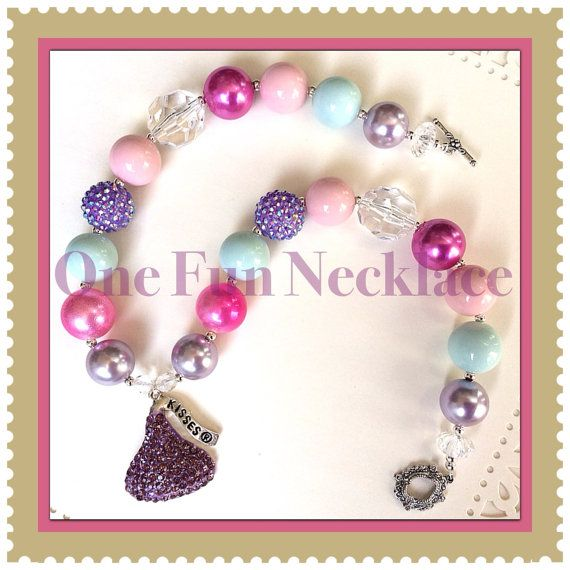 Handmade Summertime Girls/Women's Chunky Bead by OneFunNecklace, $17.95