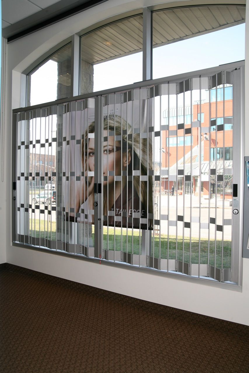 Folding Window Security Bars