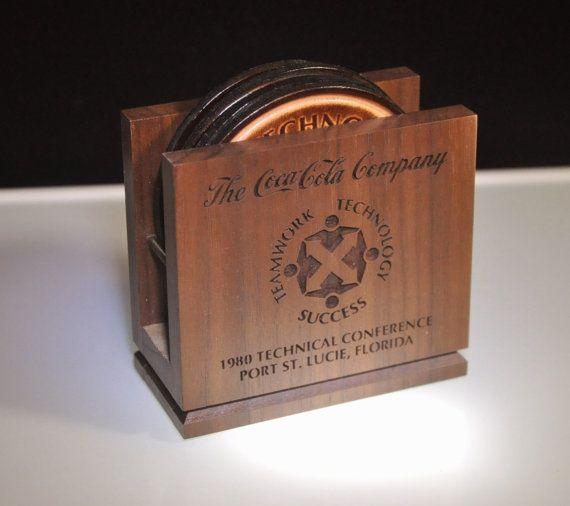 Vintage Coca-Cola Company - Motivational Advertising - Coaster Set - Circa 1980 - Coke Collectible