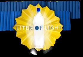 Scientificando liter of light un litro di luce con sole acqua e