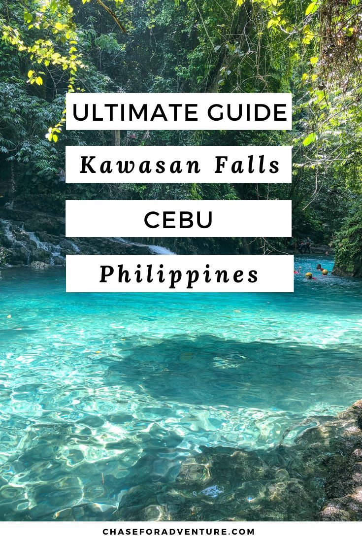 Kawasan Falls in Cebu- The ULTIMATE Guide - Chase for ...